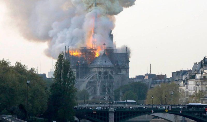 Incêndio na Catedral de Notre-Dame de Paris
